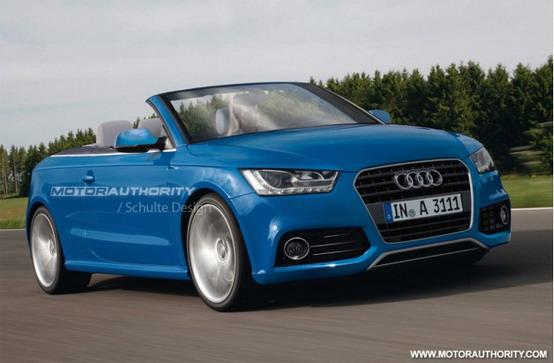 Audi A3 2012, prima immagine renderizzata della nuova cabriolet