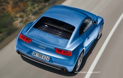 Audi R4: due nuovi render della piccola sportiva dei quattro anelli
