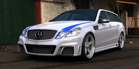 GWA-Tuning Mercedes E63 AMG