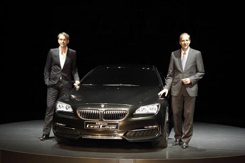 BMW Serie 6 Gran Coupé, commercializzata nel 2012