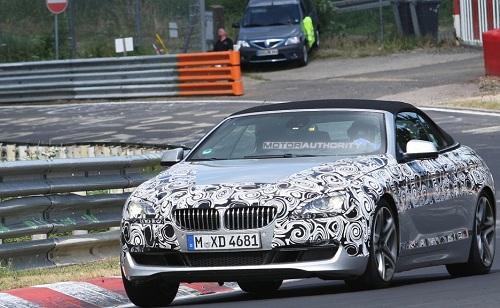 BMW Serie 6 cabriolet 2011 foto spia