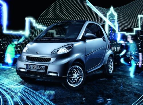 Smart ForTwo Limited Silver, edizione limitata esclusiva per la Germania