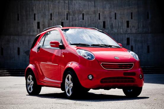 Martin Motors Bubble, presentata a Monza la nuova rivale della Smart