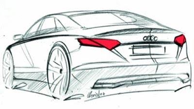 Audi A3 berlina, ipoteticamente immaginata per il mercato statunitense