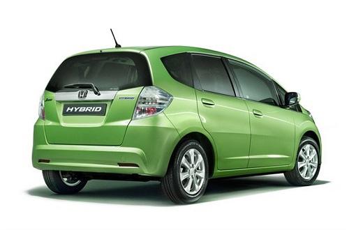 Honda Jazz Hybrid 2011, premature immagini ed informazioni