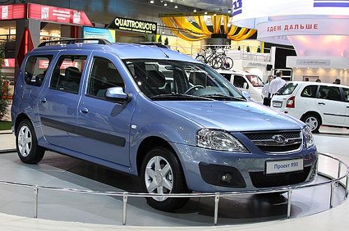 Lada R90, una Dacia Logan MPV per il mercato russo