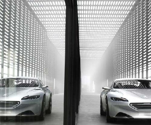 Peugeot H1, il prototipo dello stile futuro al Salone di Parigi