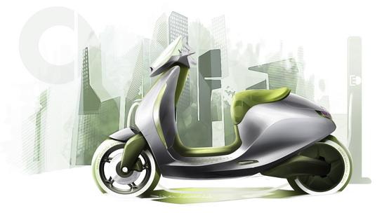 Smart e-scooter, arriva a Parigi il motorino elettrico firmato Mercedes