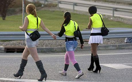 Prostitute, in Spagna con il giubbotto catarifrangente