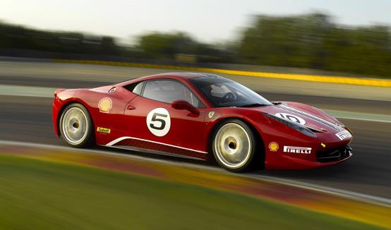 Ferrari 458 Challenge: video test sul circuito di Monza