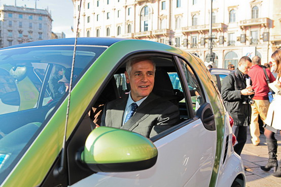Smart Fortwo Electric Drive, presentazione a MobilityTech 2010