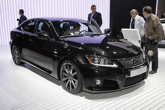 Salone di Parigi 2010: Lexus IS-F