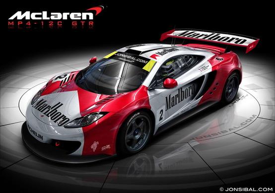 McLaren MP4-12C GT3 e GT2 in arrivo entro i prossimi tre anni