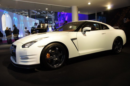 Nissan GT-R Facelift al Salone di Parigi 2010