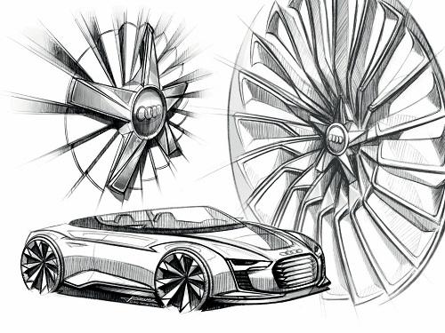 Audi E-Tron Spyder, come si costruisce una concept car