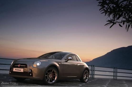 Fiat Primo rendering by David Cardoso