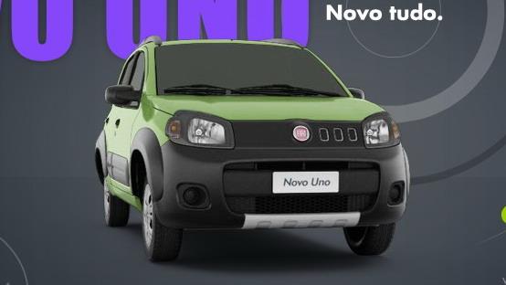 """Fiat Uno premiata """"Carro do ano 2011"""" in Brasile"""