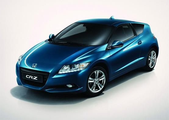 Honda CR-Z nominata Auto dell'Anno in Giappone