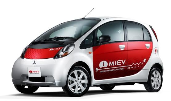 Mitsubishi i-Miev, anteprima allo show H2Roma prima del lancio italiano