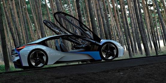 BMW Vision EfficientDynamics sarà introdotta sul mercato nel 2013