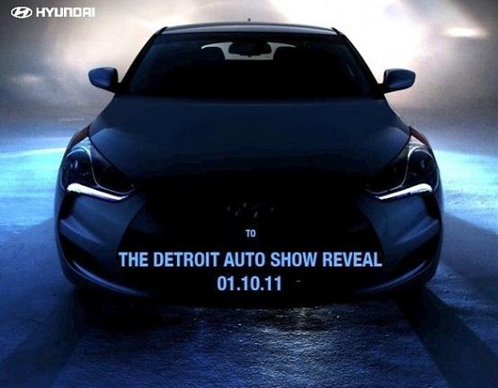 Hyundai Veloster, teaser ufficiale