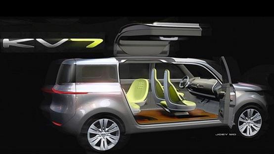 Kia KV7, una nuova concept car al Salone di Detroit 2011