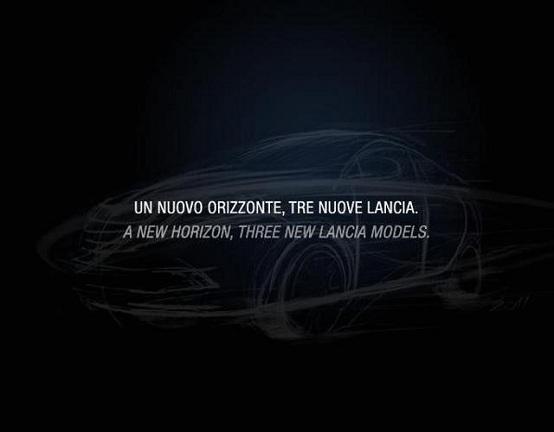 Nuova Lancia Ypsilon, bozzetti ufficiali dell'utilitaria di segmento B