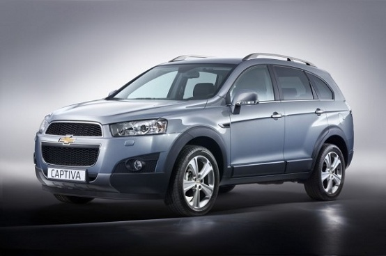 Nuova Chevrolet Captiva restyling, i prezzi