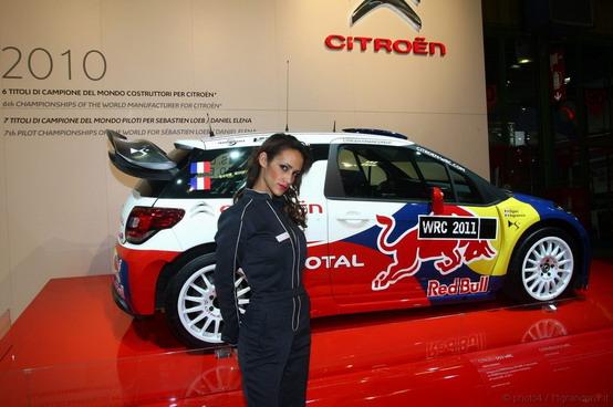 Citroen DS3 WRC Motorshow Bologna 2010