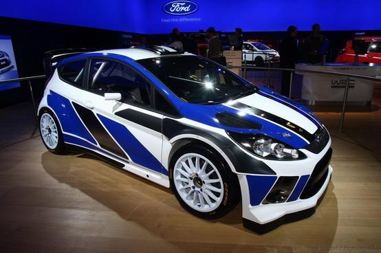 Ford Fiesta RS WRC Motorshow Bologna 2010