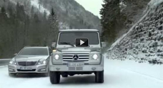 Mercedes 4Matic, nuovo spot pubblicitario con Mika Hakkinen e Michael Schumacher