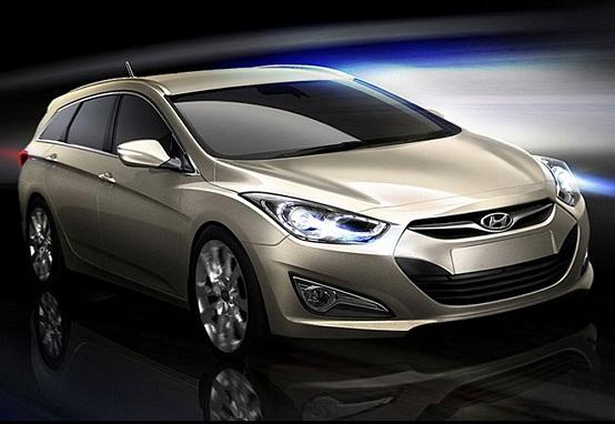 Hyundai i40 station wagon debutterà al Salone di Ginevra 2011
