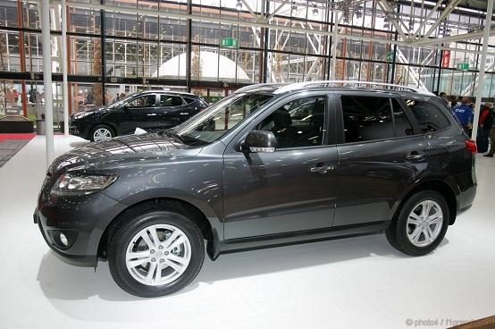 Hyundai Santafé Motorshow Bologna 2010