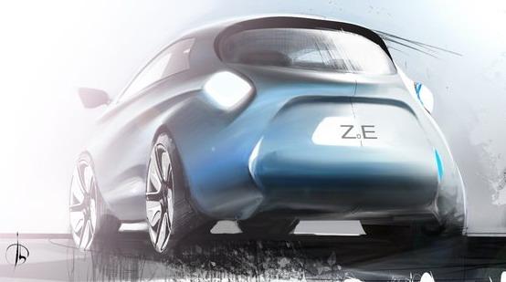 Renault Zoe: la lavorazione