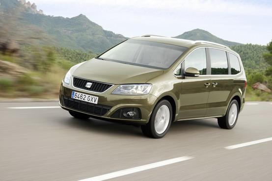 La nuova SEAT Alhambra ottiene le 5 stelle Euro NCAP