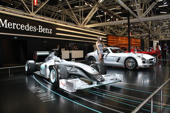 Mercedes stand al Motor Show di Bologna 2010