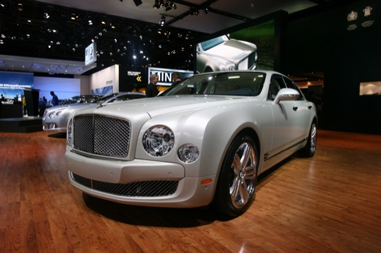 Bentley Mulsanne - Salone di Detroit 2011