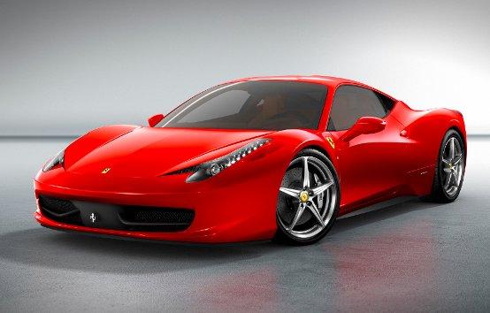 Ferrari 458 Italia al Salone di Detroit 2011
