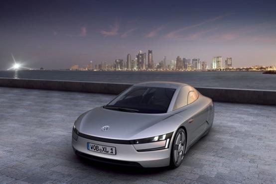 Volkswagen Xl1 Il Nuovo Prototipo Super Efficiente Al Qatar Auto