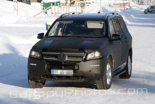 Mercedes GL spy