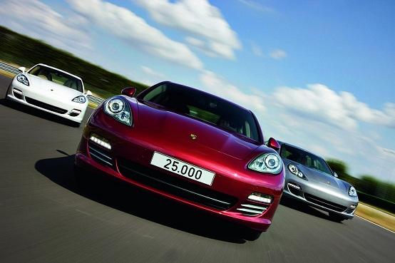 Porsche sta sviluppando una nuova berlina di segmento E?