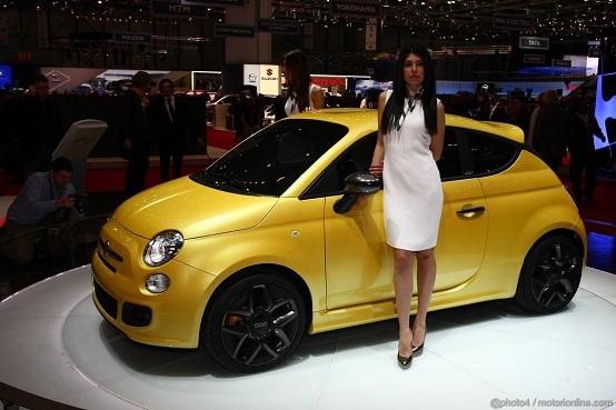 Fiat 500 Zagato Ginevra 2011