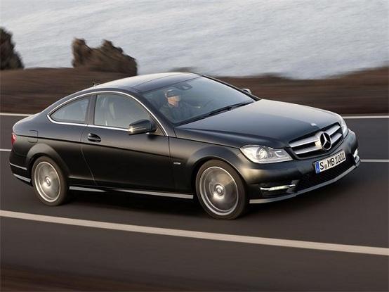 Mercedes Classe C Coupé, la versione AMG avrà il motore 6.2 litri V8