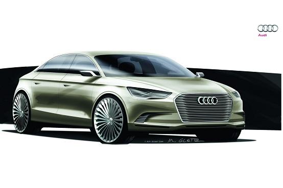 Video: Audi A3 Sedan E-Tron Concept