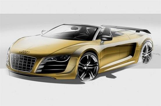Audi R8 Gt Spyder Confermata Ufficialmente La Produzione