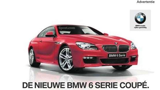 BMW Serie 6 Coupé 2011, sfugge la prima immagine del pacchetto M-Sport