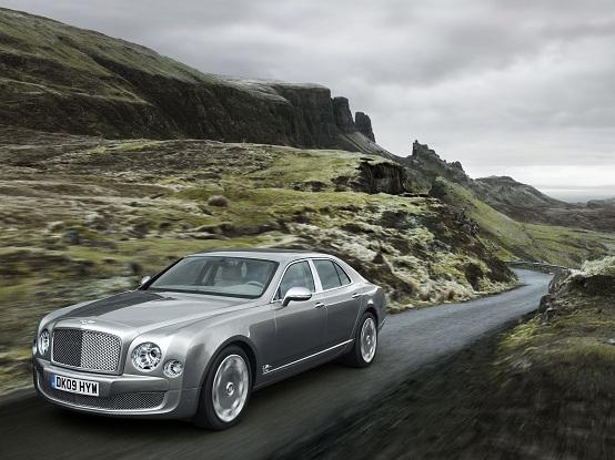Bentley, dalla berlina Mulsanne una coupé sportiva (Turbo R)