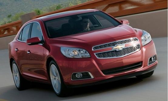 Chevrolet Malibu, prima immagine ufficiale