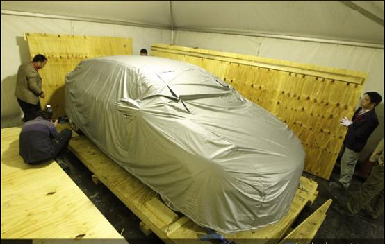 Citroen DS5 2011, secondo teaser ufficiale della concept car