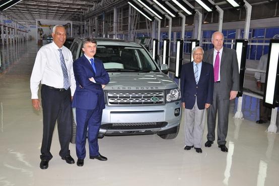Land Rover, inaugurato un nuovo stabilimento in India